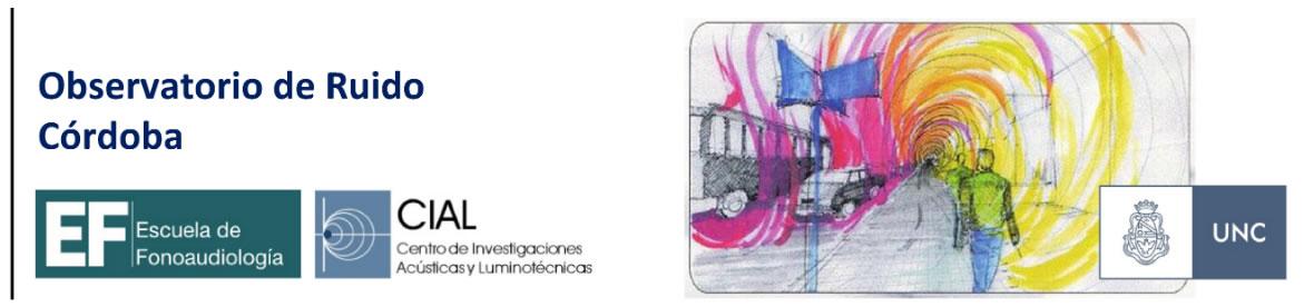 Observatorio de ruido Córdoba